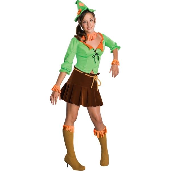 人気児童文学オズの魔法使いのカカシの衣装