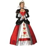 ゴージャスなハートの女王のドレス