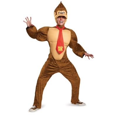 ドンキーコング 衣装、コスチューム 大人男性用 Deluxe