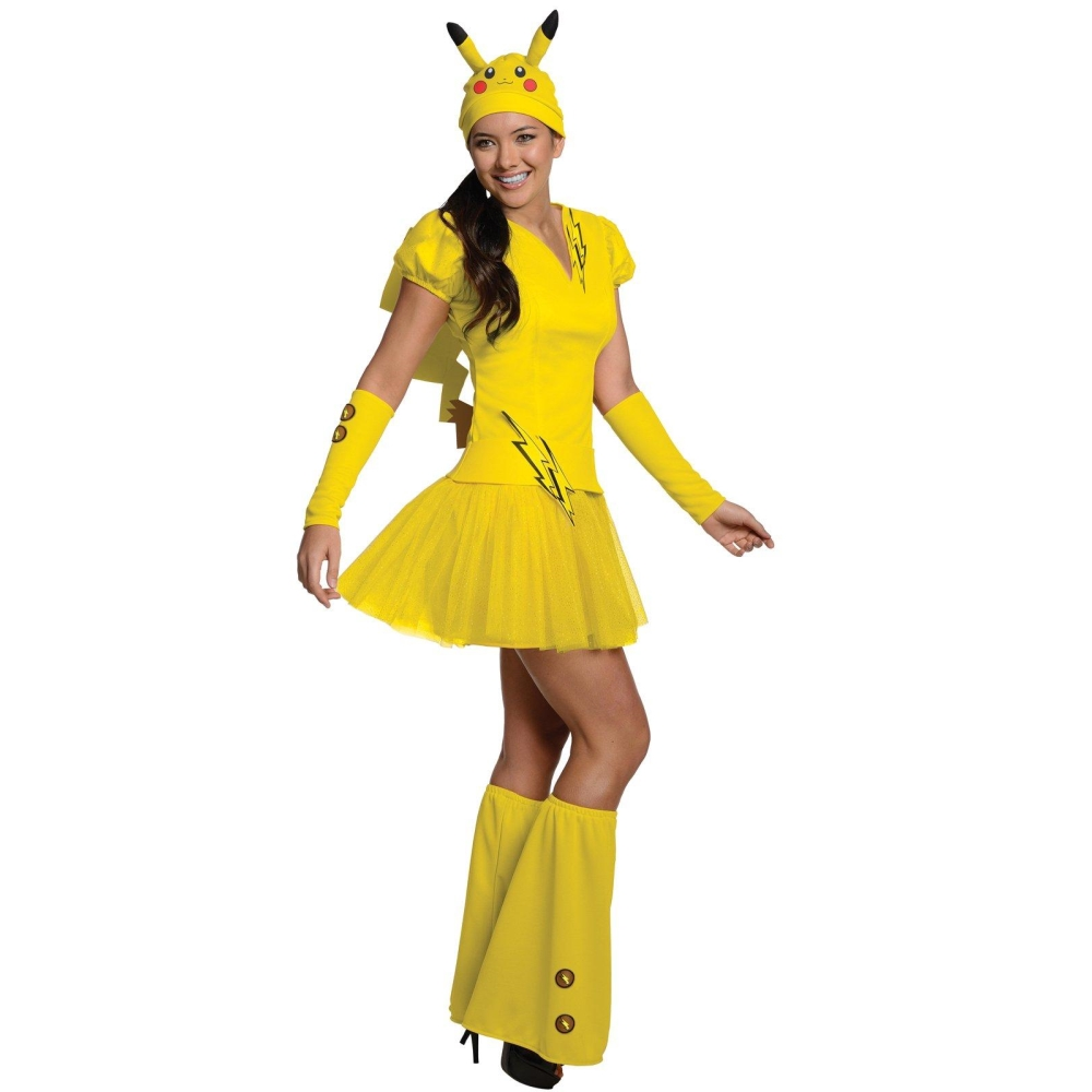 ピカチュウ ポケモン 衣装、コスチューム 大人女性用 ポケットモンスター Pikachu