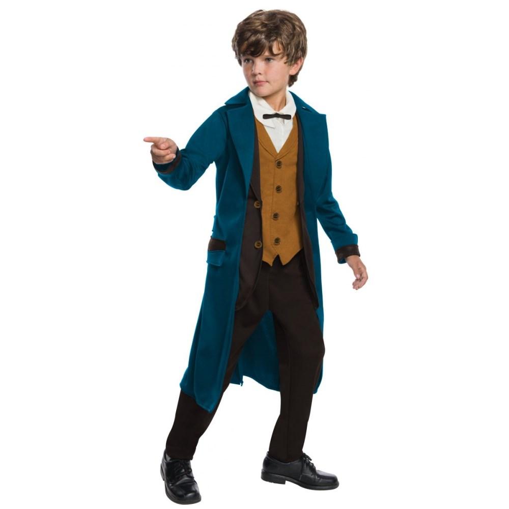 映画ファンタスティックビーストの主人公『ニュート・スキャマンダー』の子供男性用コスチューム