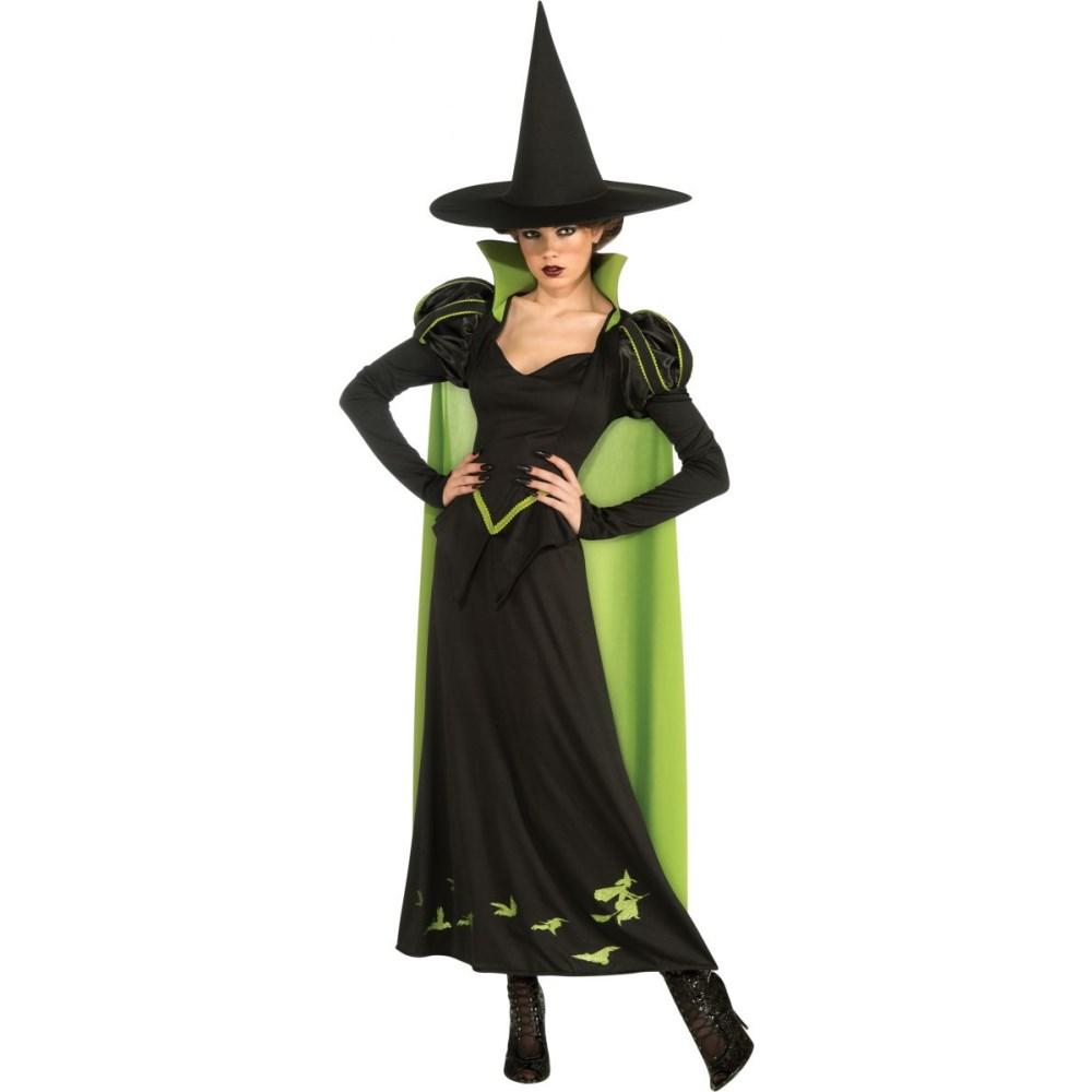 『オズの魔法使い』西の魔女の大人女性用コスチューム