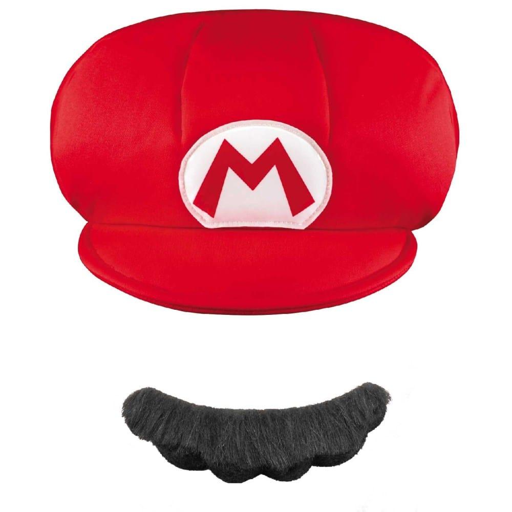 スーパーマリオ 帽子 ヒゲ 子供用 ハロウィン衣装の通販 アメリカンコスチューム